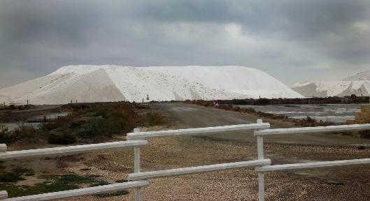 Salt Piles Le Saunier de Camargue @GingerandNutmeg