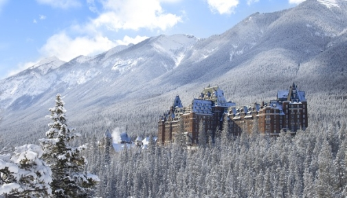 Fairmont Banff Springs Exterior view Winter