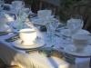 Evening Shadows Dining Al Fresco