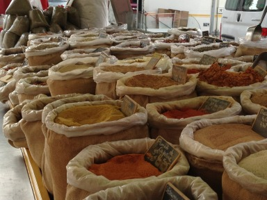 A world of spices #France #Provence # Provencal Markets @GingerandNutmeg