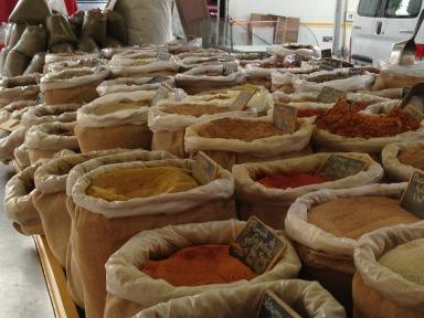 A world of spices #France #Provence # Provencal Markets @GingerandNutmeg