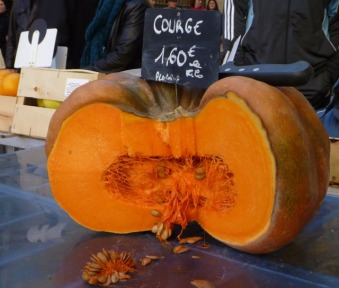 Happy Halloween in France a Pumpkin Salad Recipe