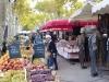 St Tropez market scene