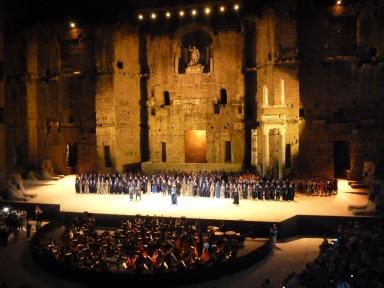 Theatre Antique d'Orange - Aida
