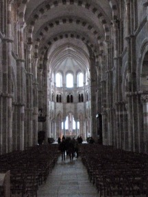 Vezelay - Basilica Interior