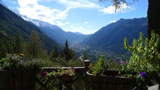 Chamonix Valley view