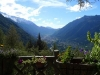 Chamonix Valley view