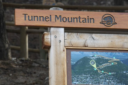 Banff Ttunnel Mountain #Banff #Alberta @GingerandNutmeg