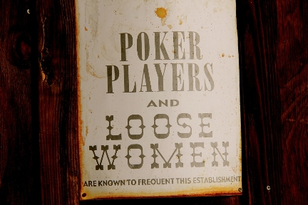 Poker Sign #FunnySigns #NewYears
