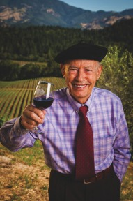 Mike Grgich Grgich Hills Estate #CaliforniaWines #NapaValley