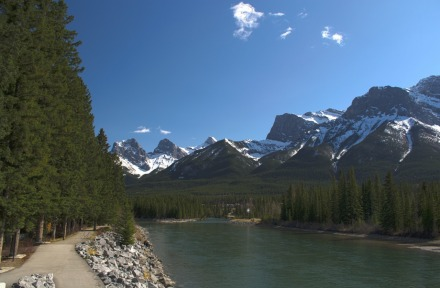 Bow River looking East