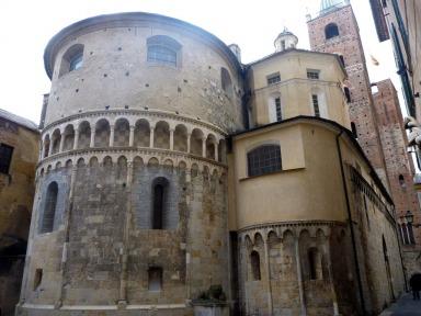 Albenga Baptistery #Albenga #Italy @GingerandNutmeg