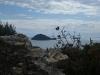 Albenga View to Isola Gallinara
