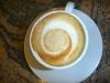 A perfect cafe macchiato