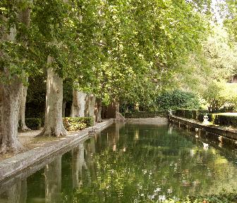 Jardin d'Albertas Le Grande Canal