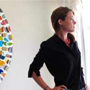 Klari Portrait, Klari Reis at Work #KlariReisArt #KlariReis @klariart #Artist