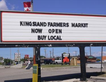 Kingsland Farmers Market in Calgary