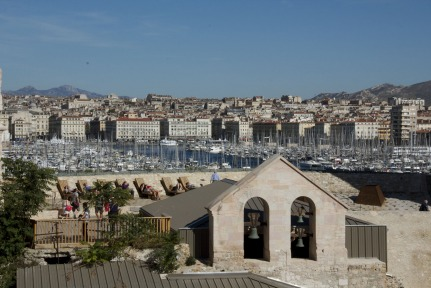 Fort Saint Jean View #Marseille #Provence @GingerandNutmeg