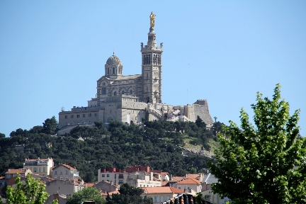 View to Notre Dame de la Garde