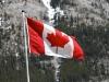 Canadian Flag #Canmore #CanadianRockies @GingerandNutmeg