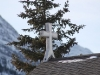 Canmore mountain-church