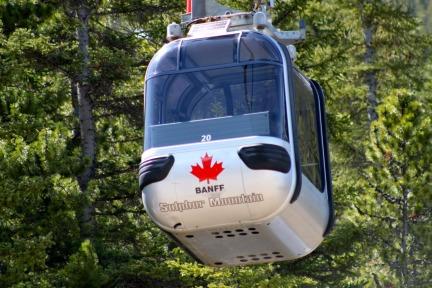 Banff-gondola