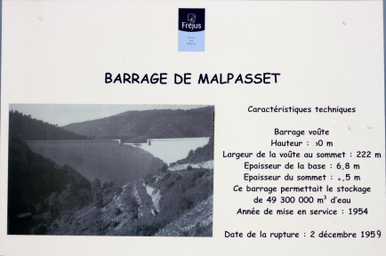 Incredible Malpasset Dam in Provence