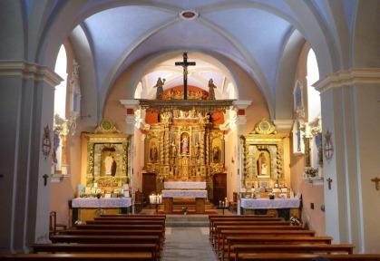 Notre Dame de La Gorge Interior