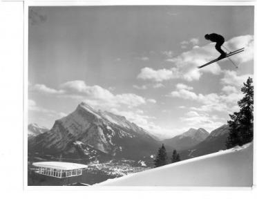 Norquay ski-jump