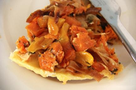 Pumpkin Tarte Tatin One Savoury Fall Pie
