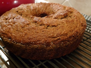 Lemon Olive Oil Banana Bread