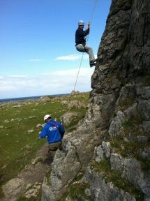 Climbing in Ireland