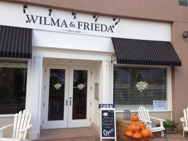 Wilma and Frieda Cafe
