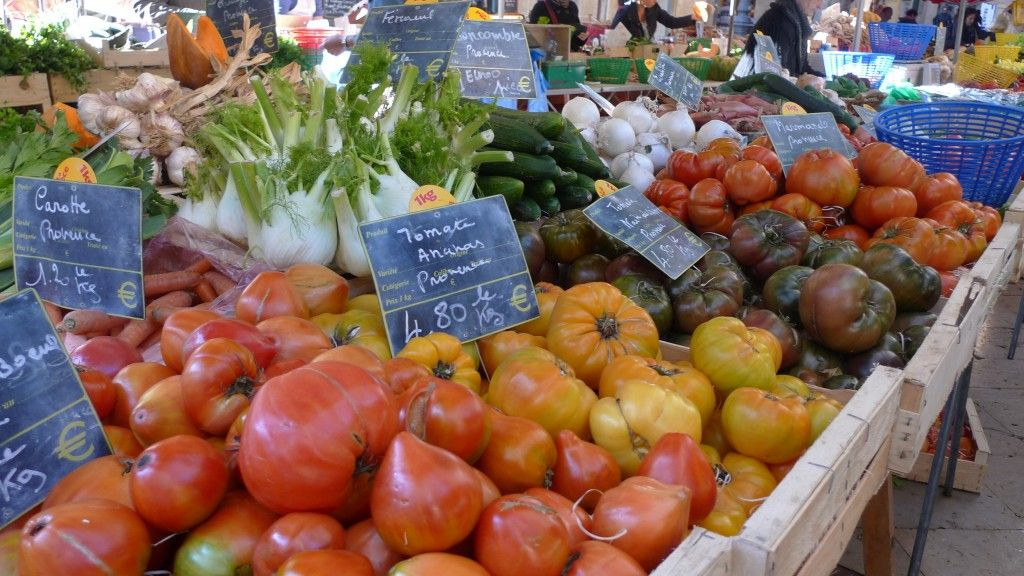 Hierloom Tomatoes #Tomatoes #Markets #Provence