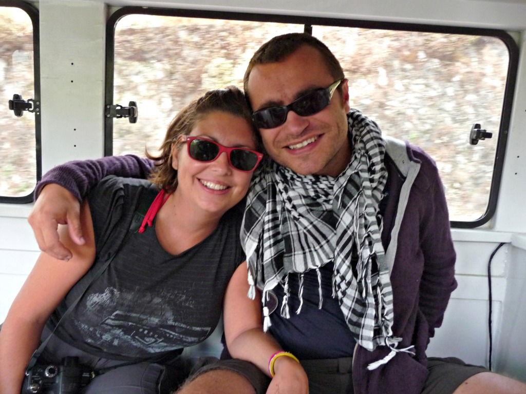 Karen and Paul #GlobalHelpSwap #Voluntourism