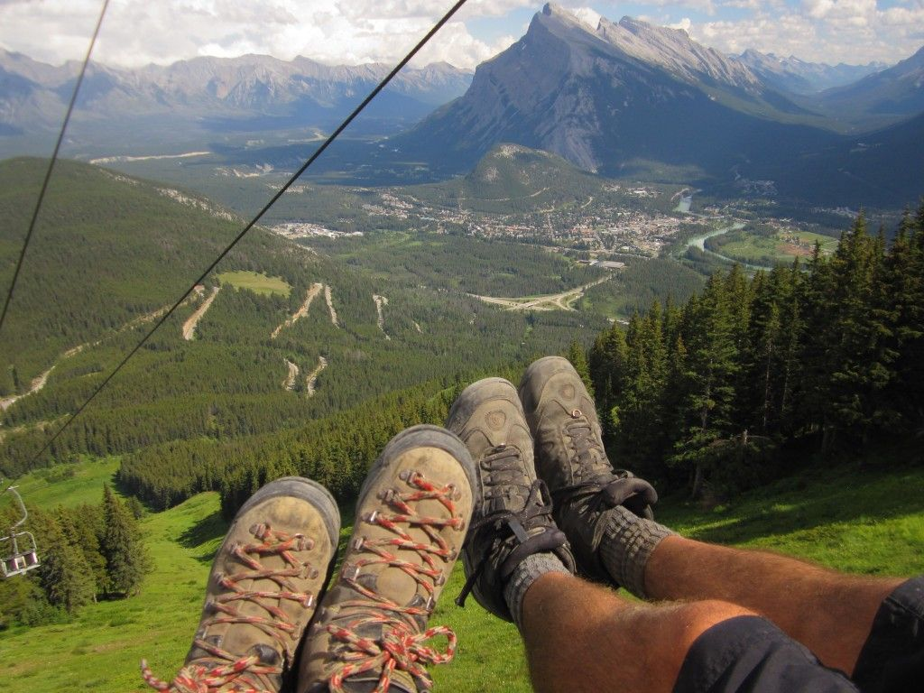 Mount Norquay Via Ferrata #CanadianRockies #MyBanff #MountNorquay @MountNorquay