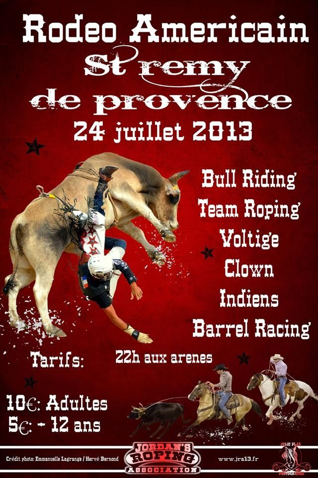 Cowboys in Provence #AmericanRodeo #Provence