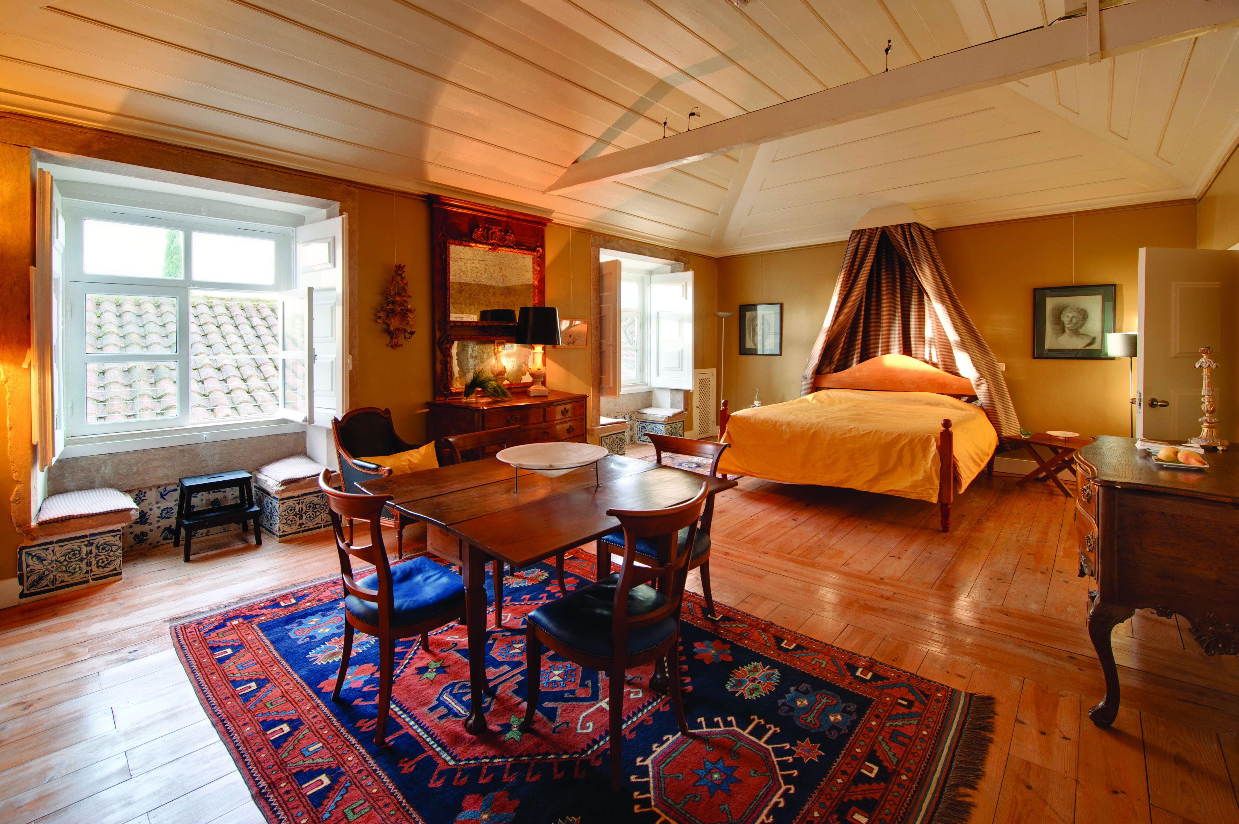 Palacio Belmonte 6 Agostinho da Silva Suite - Joe Condron #Lisbon #PalacioBelmonte #LuxuryHotels #TravelPortugal