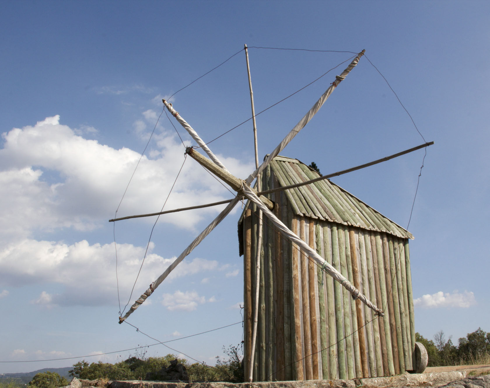 Windmill  #Portugal @GingerandNutmeg