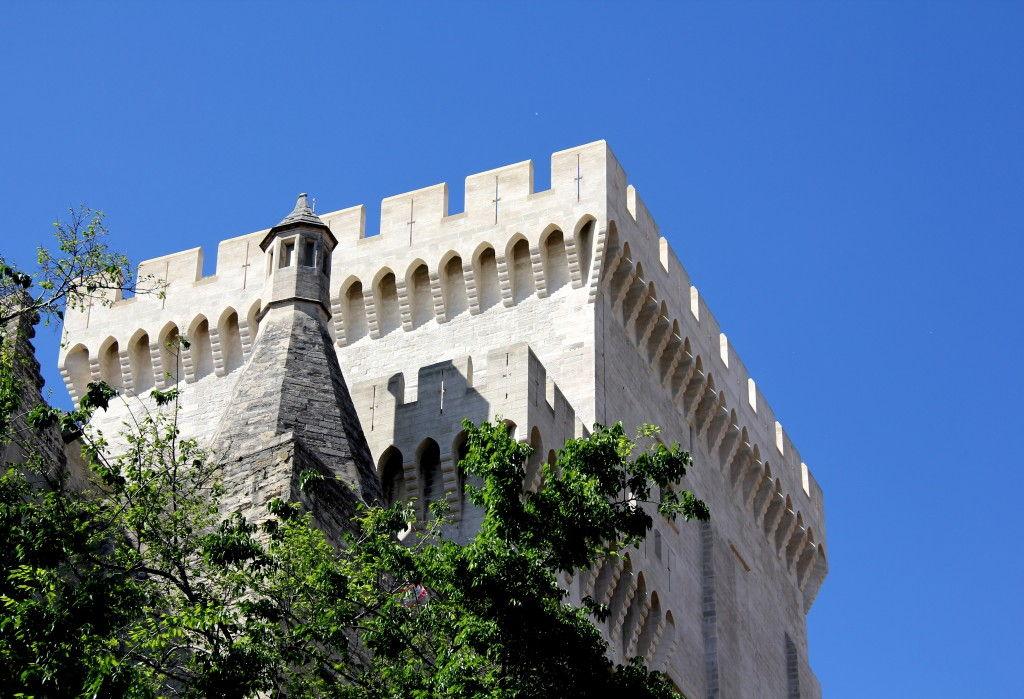 Palais des Papes Avignon #Avignon #Provence @GingerandNutmeg