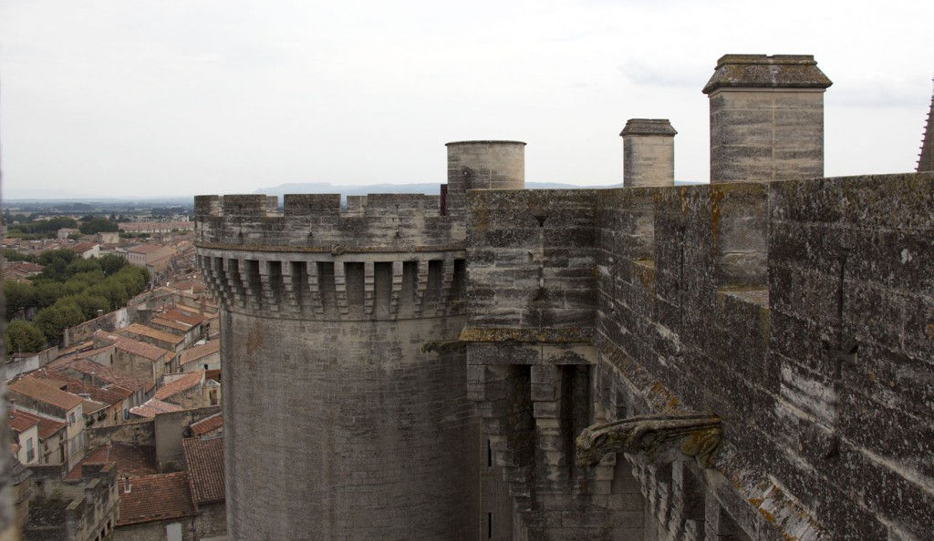 Tarascon Castle view #Tarascon #Tarasque #ProvenceLegends @GingerandNutmeg