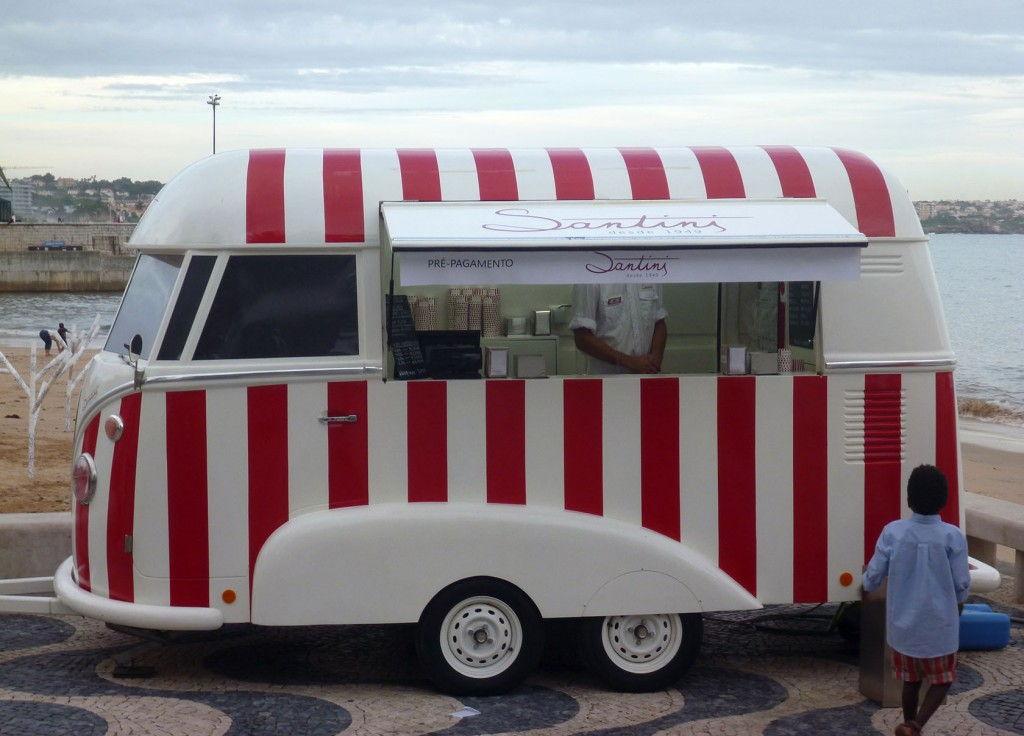 Cascais food truck Santini