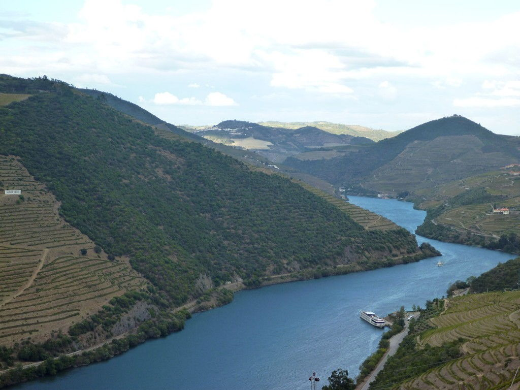 Douro River views #Douro #Portugal @GingerandNutmeg
