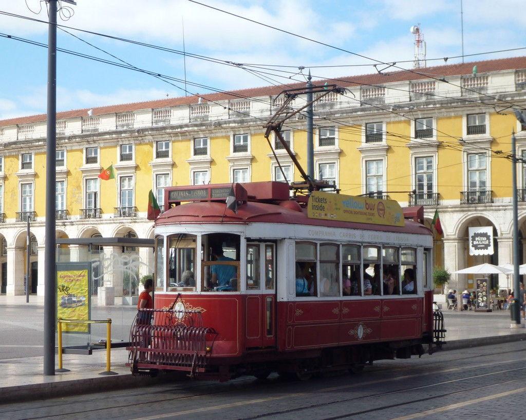 Lisbon trams #Lisbon #Portugal @GingerandNutmeg