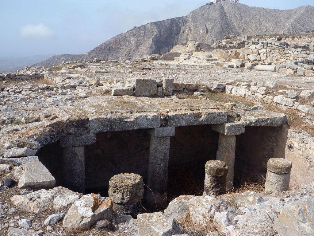 Ancient Thera Santorini #Santorini #VisitGreece @GingerandNutmeg