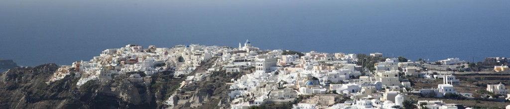 Oia_Panorama Santorini #Santorini #VisitGreece @GingerandNutmeg