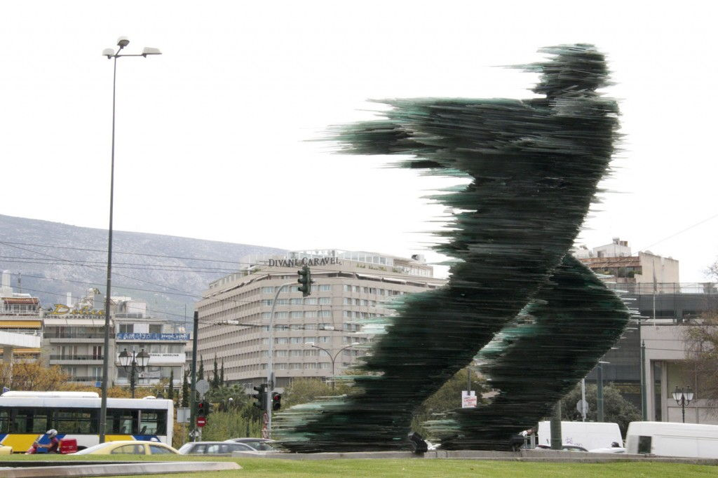 Glass runner #Athens #Greece #VisitGreece @GingerandNutmeg