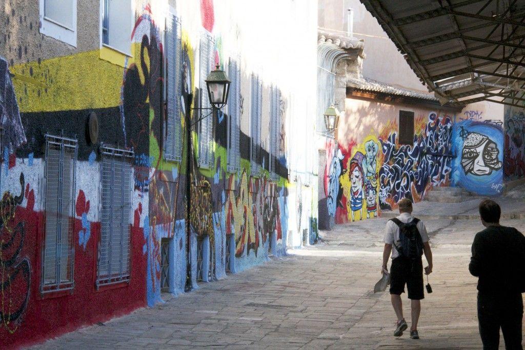 Graffiti walk #Athens #Greece #VisitGreece @GingerandNutmeg