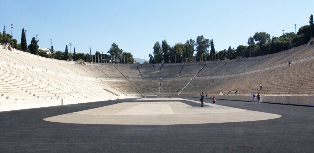 Olympic Stadium #Athens #Greece #VisitGreece @GingerandNutmeg