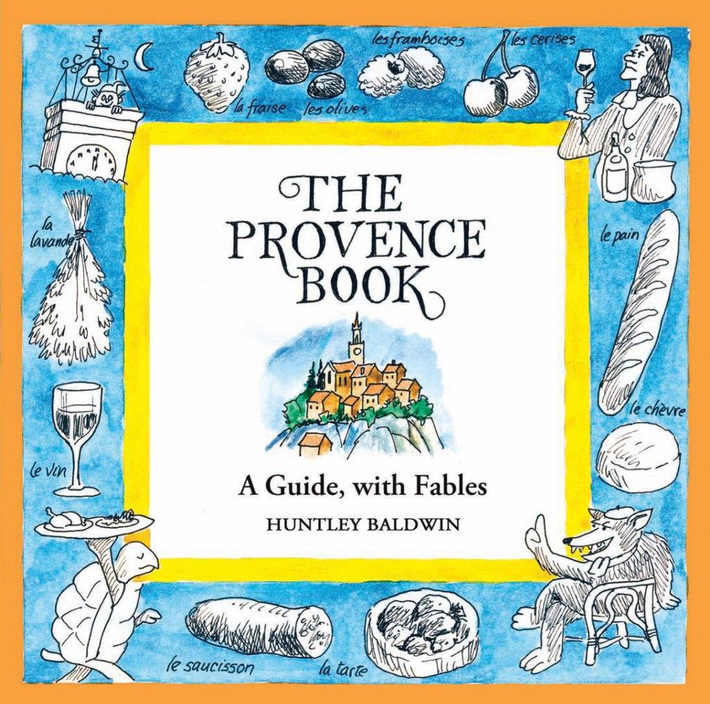The Provence Book jacket #Provence #books